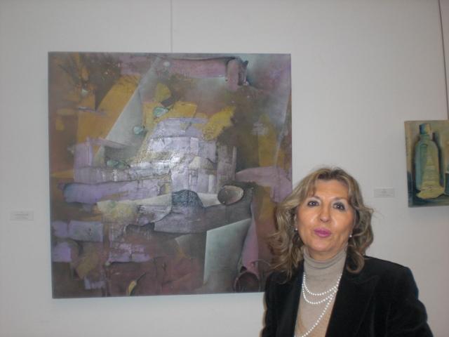 Paloma Casado .Pintora estupenda