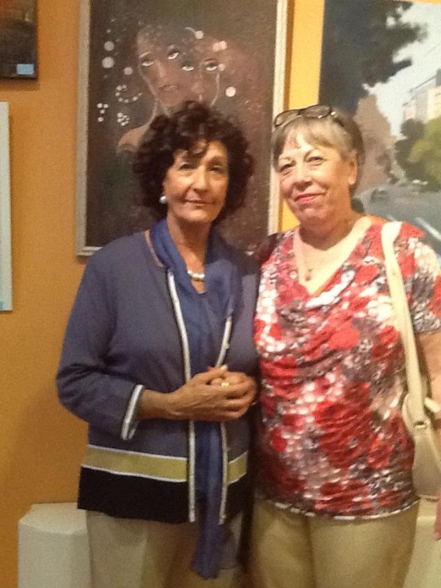Carmen Holgueras e Iliana Zoltan