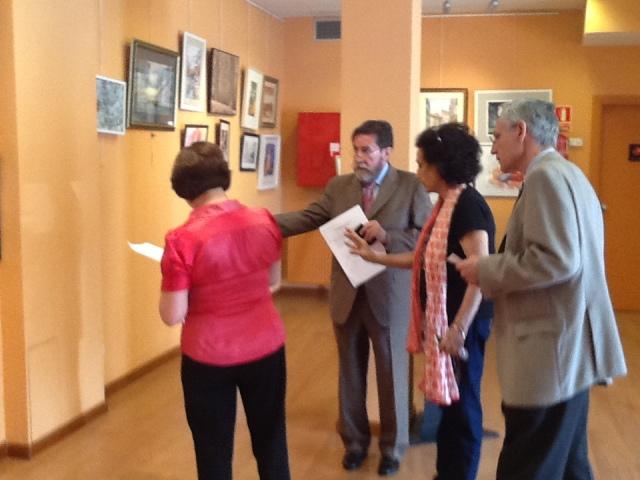 Marcos Rubio,Carmen Holgueras,José Gabriel Astudillo y Mª Angeles Gil