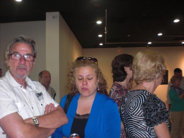 José Luis Risoto y una amiga