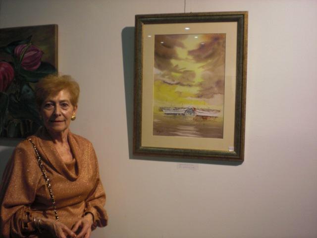 Elisa Gonzalo .Acuarelista