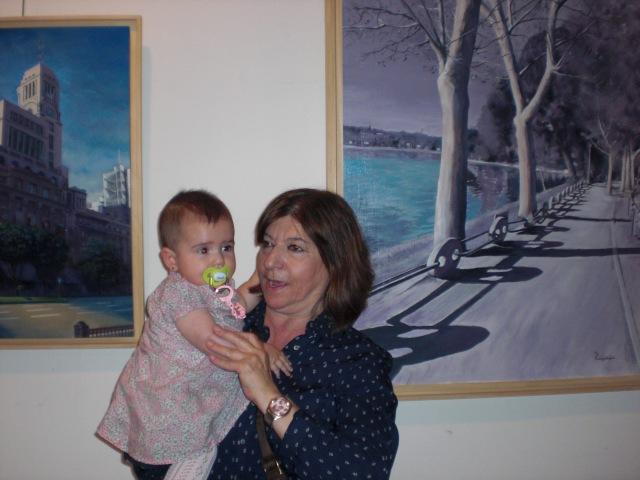 Nuestra Secretaria General con su nieta