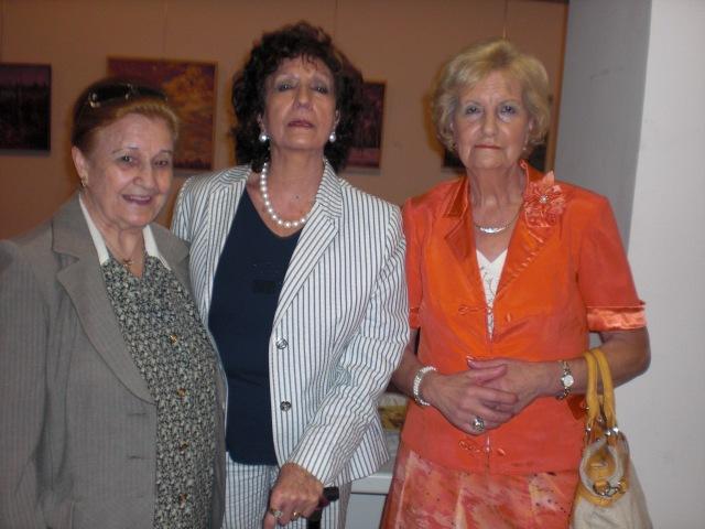 Nati LOzano Carmen Holgueras y Eulalia Peñafiel