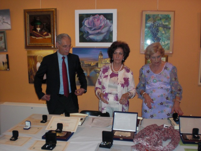 MARCOS rUBIO, CARMEN HOLGUERAS Y LALY PEÑAFIEL
