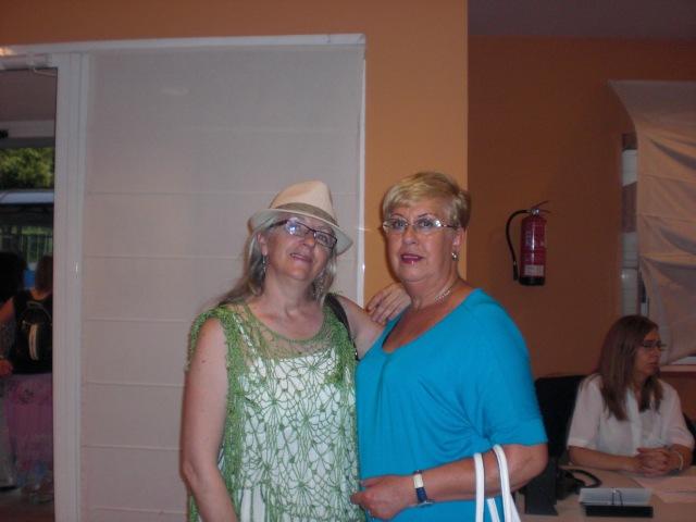 Cristina y su amiga