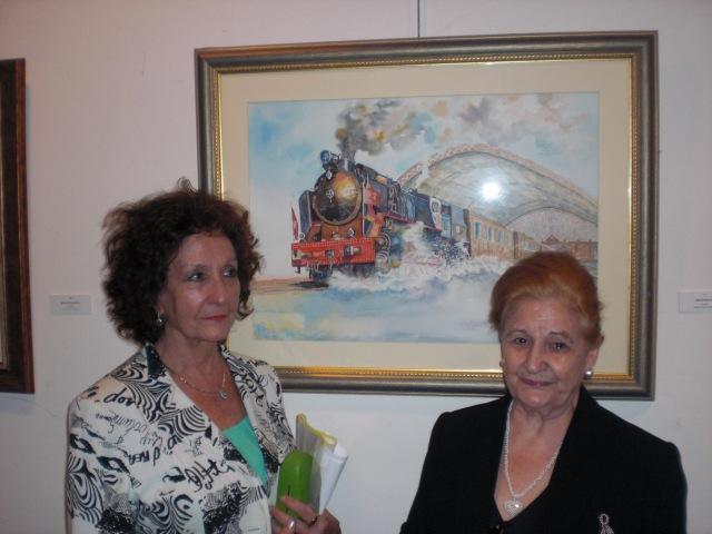 Carmen Holgueras  y Naty Lozano