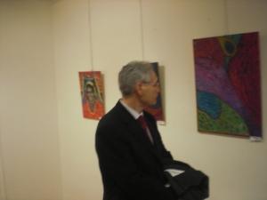 El Pintor  Paisajista Marcos Rubio .Padrino del Certamen