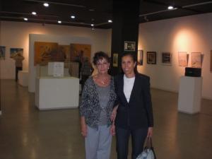 Carmen Holgueras presidenta y Doña Durán Concejala