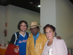 Juan .el cantante Luis Debris Y  Charo Holgueras