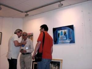 Esposo e hijo de la pintora Carmen Villelga ,coaborando con J.Luis Risoto
