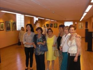 Premiadas en el XXVII Certamen. Paloma Melo,Carmen Recio,Mª Rosa Ramirez C.H .Carmen Ruiz y Elisa Gonzalo